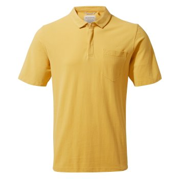Craghoppers Meran Short-Sleeved Polo - Indian Yellow