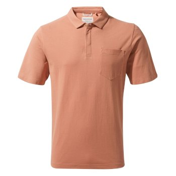 Craghoppers Meran Short-Sleeved Polo - Red Ochre