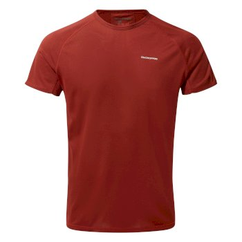 Craghoppers NosiLife II Short Sleeved Baselayer T-Shirt - Firth Red
