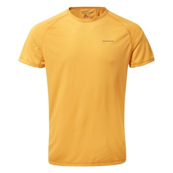 Craghoppers NosiLife II Short-Sleeved Baselayer T-Shirt - Indian Yellow