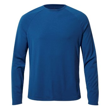 Craghoppers First Layer Long-Sleeved T-Shirt - Deep Blue
