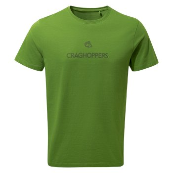 Craghoppers Nelson Short-Sleeved T-Shirt - Agave Green Brand Carrier