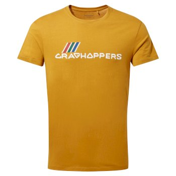 Craghoppers Mightie Short Sleeved T-Shirt - Dark Butterscotch Brand Carrier