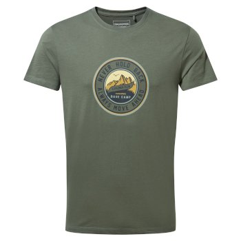 Craghoppers Mightie Short Sleeved T-Shirt - Parka Green Circle