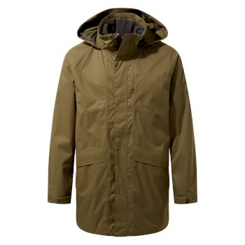 Craghoppers Brae Jacket Dark Moss / Black Pepper