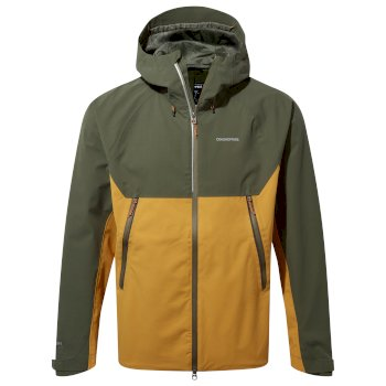 Craghoppers Trelawney Jacket - Parka Green / Dark Butterscotch