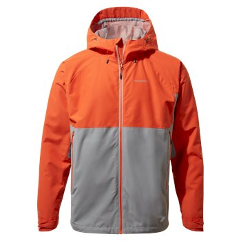 Craghoppers Atlas Jacket - Marmalade / Cloud Grey