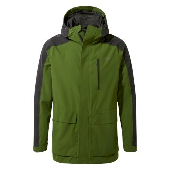 Craghoppers Lorton Jacket - Dark Agave Green / Black Pepper