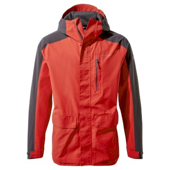 Craghoppers Lorton Jacket - Pompeian Red / Black Pepper