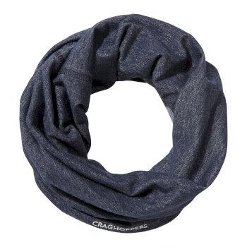 Craghoppers NosiLife Tube Scarf - Soft Navy Marl