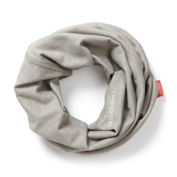 Craghoppers NosiLife Tube Scarf - Soft Grey Marl
