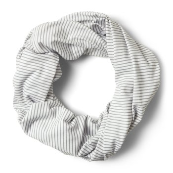Craghoppers NosiLife Infinity Scarf - Soft Grey Marl Stripe