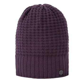 Craghoppers Unisex Brompton Waffle Knit Beanie Hat Thistle