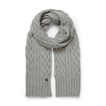 Craghoppers Unisex Dolan Knit Scarf Soft Grey Marl