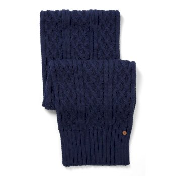 Craghoppers Unisex Dolan Knit Scarf Night Blue