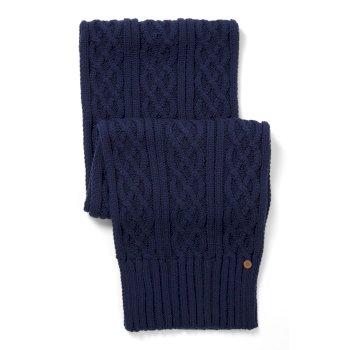 Craghoppers Unisex Dolan Knit Scarf - Night Blue