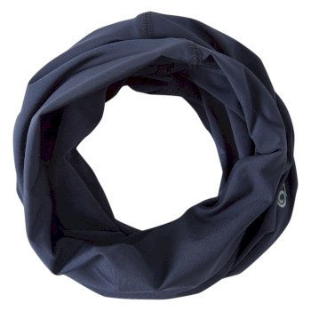 Craghoppers HEIQ Viroblock Neck & Face Scarf - Blue Navy Marl