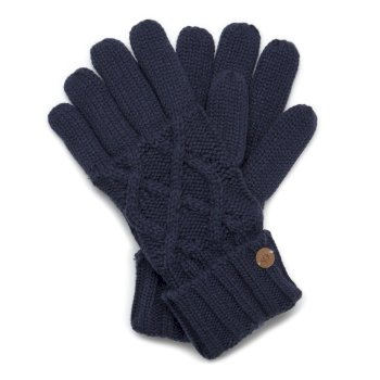 Craghoppers Unisex Dolan Gloves Night Blue