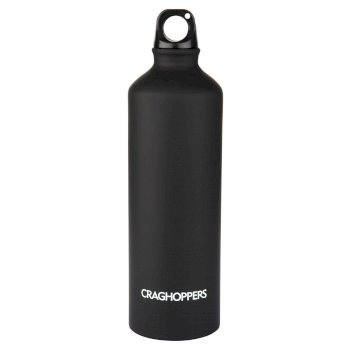 Craghoppers Aluminium Water bottle - Black