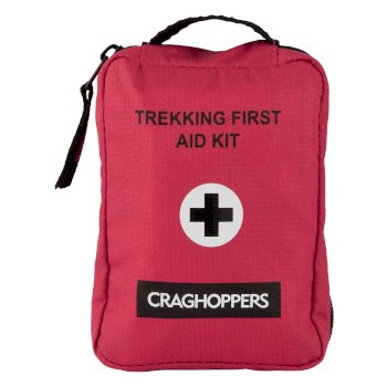 Craghoppers Basic Trek First Aid Kit Red