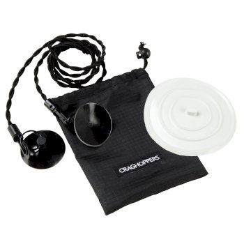 Craghoppers Washline & Sink Plug Kit - Black