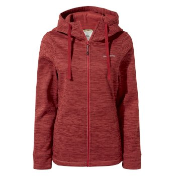 Craghoppers Vector Hooded Jacket Fiesta Red