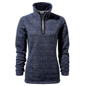 Craghoppers Braemar Half-Zip Fleece Blue Navy Marl