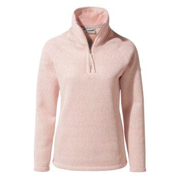 Craghoppers Braemar Half-Zip Fleece Blossom Pink Marl