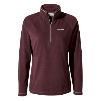 Craghoppers Miska V Half-Zip Fleece Winterberry