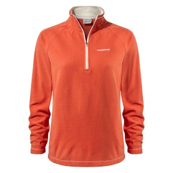 Craghoppers Miska V Half-Zip Fleece Warm Ginger