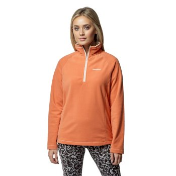 Craghoppers Miska V Half-Zip Fleece - Soft Apricot