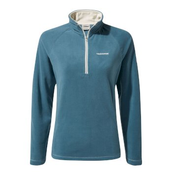 Craghoppers Miska V Half-Zip Fleece - Venetian Teal