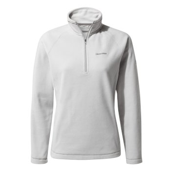 Craghoppers Miska V Half-Zip Fleece Dove Grey