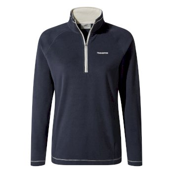 Craghoppers Miska V Half-Zip - Blue Navy