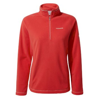 Craghoppers Miska V Half-Zip - Rio Red