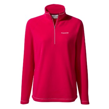 Craghoppers Miska V Half Zip - Winter Rose