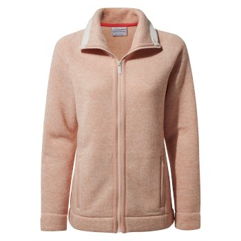 Craghoppers Alphia Fleece Jacket - Corsage Pink Marl