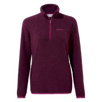 Craghoppers Priya Half Zip - Blackcurrant