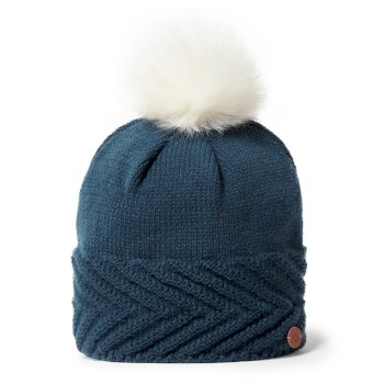 Craghoppers Maria Knit Hat - Loch Blue