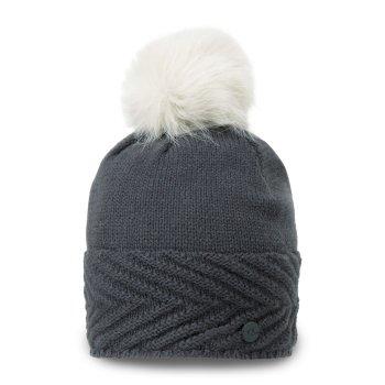 Maria Knit Hat - Charcoal Marl