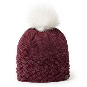 Craghoppers Maria Knit Hat - Wildberry