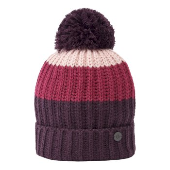 Craghoppers Womens Heather Hat Azalia Pink Stripe