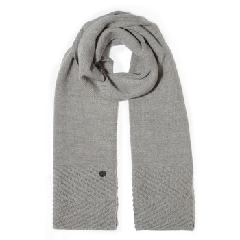 Craghoppers Maria Knit Scarf - Soft Grey Marl
