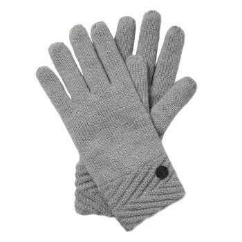 Craghoppers Maria Knit Glove - Soft Grey Marl