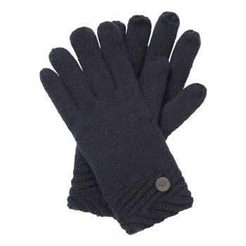 Craghoppers Maria Knit Glove - Blue Navy