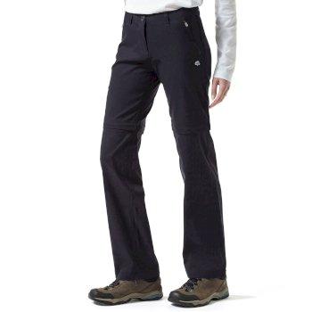 Craghoppers Kiwi Pro Convertible Trousers - Dark Navy