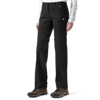 Craghoppers Kiwi Pro Convertible Trousers - Black