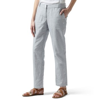 Craghoppers Odette Trousers - China Blue Stripe