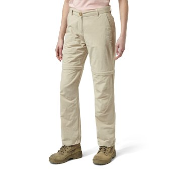 Craghoppers NosiLife II Zip Off Trousers - Desert Sand