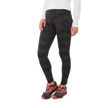 Craghoppers Winter Trekking Tight - Black Print
